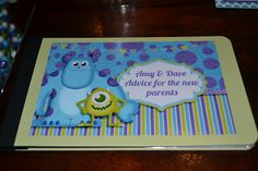 monsters inc. baby shower | Manda Creation: Monsters Inc Baby Shower Day 8