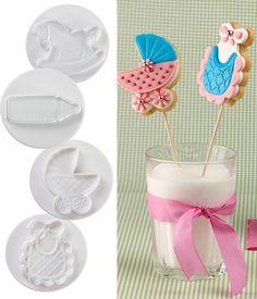 DOUGH CUTTER BABY 3D Dough Cutter, Decoration, Cookie Decorating, Cookie Dough, Baby Shower, Cookies, Sweet, Party, Design