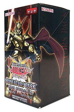 Yu-Gi-Oh! Konami Yugioh Cartes ARC V Booster Pack Boîte TCG OCG 150 Cartes Pack du Collectors: Duelist of Destiny Version Corée