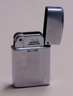 Vintage Polly-Gaz Sport Cigarette Lighter, Made In Japan, Circa Mid-1960s