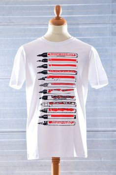 T-Shirt of edding like markers by Kamp Seedorf