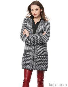 Catalogue Katia Urban N° 95 - ladylaine laine Katia Lang Yarns Winter Coats Women, Coats For Women, Catalogue Katia, Laine Katia, New Look Fashion, High Street Brands, Nouveau Look, Runway Fashion, Womens Fashion