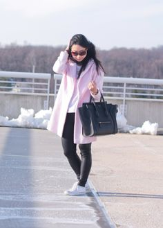 Pink Coat: Casual