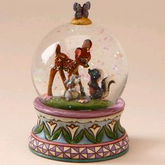 I love Jim Shore designs, Bambi, and snow globes. this is a must have!