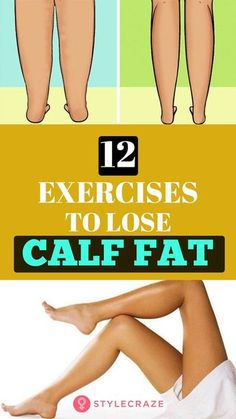 12 Exercises To Lose Calf Fat And Diet And Lifestyle Tips For Slim Calves - - Excessive calf fat may look disproportionate. Here we have listed right exercises aand a good diet tips that can help lose calf fat and get toned calves. Fitness Motivation, Fitness Tips, Health Fitness, Fitness Quotes, Fitness Goals, Kids Fitness, Yoga Fitness, Fitness Men, Fitness Journal