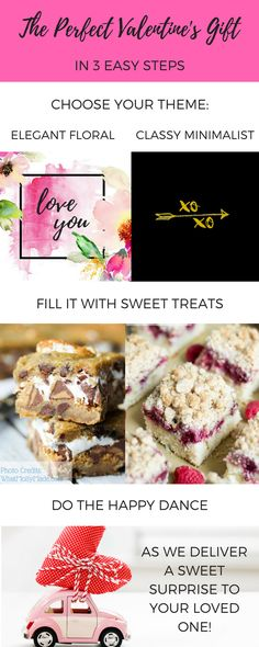 We donate 10% of net profits to charities that make the world sweeter! Join us by ordering custom Valentine's Day gifts for the dessert-lover in your life! Choose your theme, choose your treats, and we deliver sweet Valentine's Day Presents to your loved ones!