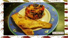 . Ingrédients : . 3 aubergines . 3 poivrons ( vert , rouge et jaune pour moi ) . 6 courgettes jaunes . 5 tomates . 2 oignons . 5 gousses d'ail . 1 càs d'huile d'olives . sel , poivre . thym Préparation : Peler et émincer les oignons. Peler et écraser...