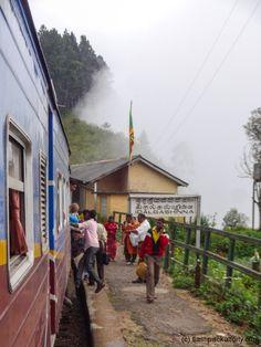 Top of the mountains kandy Ella Train Sri Lanka
