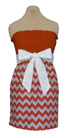 Day dresses on pinterest school colors game day dresses and just go