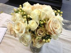 it starts with the bouquet..