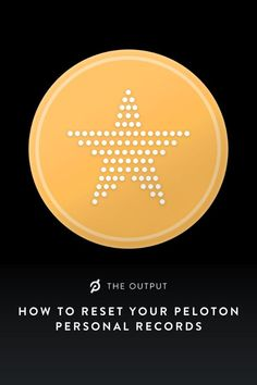 Find out how to reset your Peloton Personal Records and keep striving towards your goals!