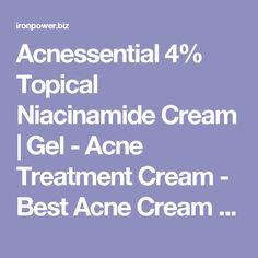 Acnessential 4% Topical Niacinamide Cream | Gel - Acne Treatment Cream - Best Acne Cream - Acne Crème – Acne Ointment