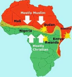 HP : Why do you think it is important to kick Christianity and Islam out of Africa? Jd Otit ( The administrator of World Atheists:. Islam, Muslim Religion, Human Geography, World Thinking Day, Les Continents, Out Of Africa, Old Maps, African Countries, Historical Maps