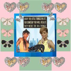 """Rihanna and Left Eye"" by djlbg on Polyvore"