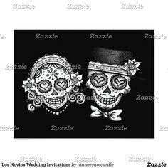 177 best SUGAR SKULL WEDDING Invitations images on Pinterest | Skull ...