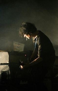 """Jack White - funny to pin him as a piano player since he's such an incredible guitarist. """"It Might Get Loud,"""" features White and shows how this guy can turn just about anything into a guitar. Very cool."""