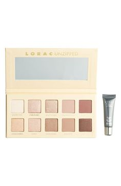 LORAC 'Unzipped' Shimmer Matte Eyeshadow Palette ($200 Value) | Nordstrom