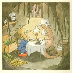 Ida Bohatta-Morpurgo, worm and root person, fairy