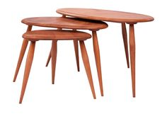 Ercol Pebble Nest of Tables c.1960