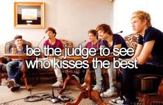 Ill just be th judge of that...you first...ok wait..once more I need to reconsider that...
