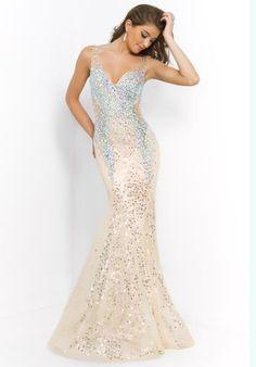 64ef9256ca4 2015 Blush Open Back Prom Dress 9925 Beaded Prom Dress