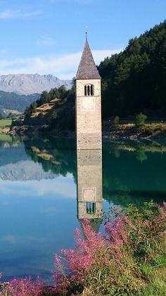 Curon Venosta -Alto Adige-Italia