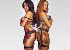 Naked tattooed women of america