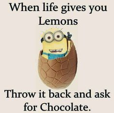 Yay for chocolate! Unless life throws lemon bars and then it is yay for lemon bars!