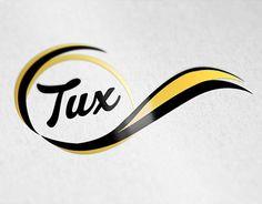 "Logo for ""Tux"" Portfolio Logo, Working On Myself, New Work, Logo Design, Company Logo, Behance, Logos, Gallery, Check"