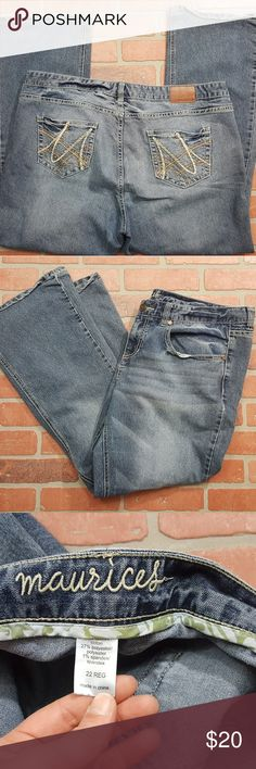 Maurices plus size jeans size 22 Maurices brand plus size jeans in good condition. Maurices Jeans Boot Cut