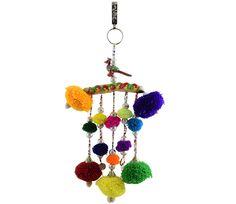 Designer Navratri Jewellery for Chaniya Choli #navratri2015 #chaniyacholi #handmade fashionvalley.in