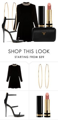 """""""Loosing you was the worst thing that ever happened to me."""" by lucieednie ❤ liked on Polyvore featuring Yves Saint Laurent, Loren Stewart, Giuseppe Zanotti, Gucci and Prada"""