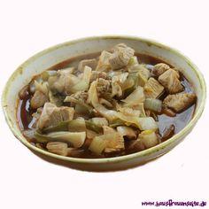 Cola-Huhn mit Frühlingszwiebeln dieses Cola-Huhn Rezept stammt aus einem chinesischen Kochkurs und war sehr lecker