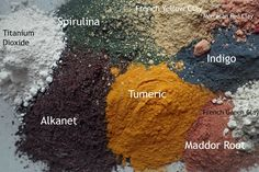 The Midlife Farmwife: The Color Of Mute (great info on natural colorants)