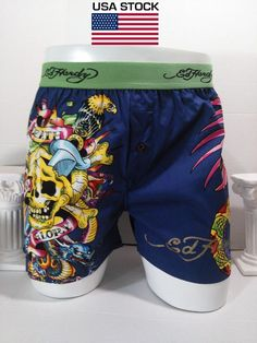 bb6ae400ff Ed Hardy Death or Glory Hollywood Premium Collection Boxer Trunk Size Large  New #Edhardy #