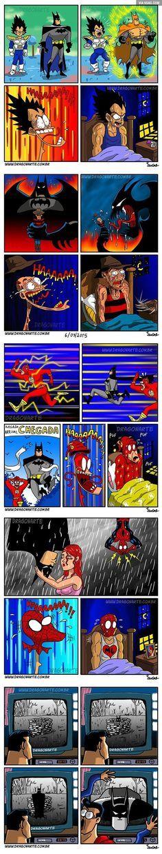 Batman is love, Batman is life