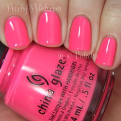 China Glaze — Peonies & Park Ave (City Flourish Collection | Spring 2014)