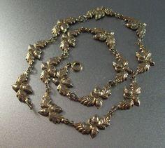 Vintage Danecraft Sterling Acorn Necklace by LynnHislopJewels