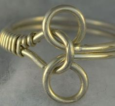 TUTORIAL Puzzle Ring Wire Wrapped - pdf. Learn to make this ring … Plus