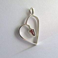 Oregon Coast Agate/Sterling Silver: The by OregonCoastAgates Rock Jewelry, Central Oregon, Oregon Coast, Carnelian, Agate, Initials, Sterling Silver, Pendant, Heart