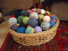 Wool! Laundry Basket, Wicker, Organization, Wool, Handmade, Home Decor, Getting Organized, Organisation, Hand Made
