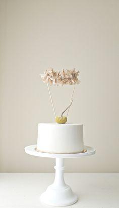 Fall Fringe Garland Cake Topper