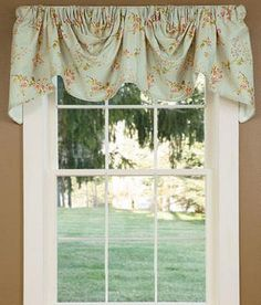 Sanctuary Lined Austrian Valance