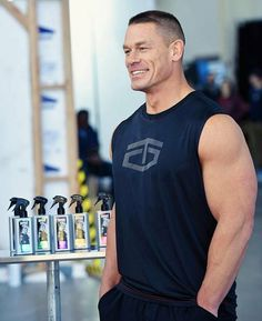 wwe ( ・・・ Feel as happy as on set with the new Tapout Men's Body Sprays! Find them in the fragrance aisle at Walmart. John Cena Wrestling, Funny Wrestling, John Cena Pictures, Wwe Superstar John Cena, Crossfit Gym, Wwe Champions, Dale Earnhardt Jr, Celebration Quotes, European Football