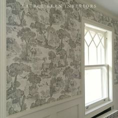 bronxville-bathroom-Versailles-grisaille-wallpaper Cole & Son french-kitchen-design by Laurel Bern French Kitchen, Kitchen And Bath, Kitchen Decor, Cole And Son, Foyer Decorating, Decorating Blogs, Versailles, Kitchen Canopy, House Is A Mess