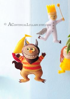 Where The Wild Things Are mobile by A Continual Lullaby $99