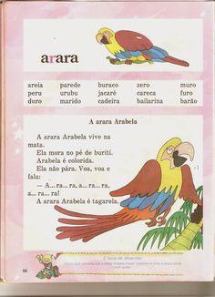Professora Edna Cedaro: Cartilha Pirulito Nostalgia, Homeschool, Education, Bonding Activities, Reading Activities, Word Walls, Cursive Letters, Letter B, Index Cards