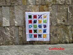Cattinka: Der Granny Square Quilt in der Großstadt