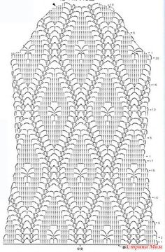 How to Crochet a Little Black Crochet Dress Crochet Cardigan Pattern, Crochet Shirt, Granny Square Crochet Pattern, Crochet Jacket, Filet Crochet Charts, Crochet Motifs, Crochet Diagram, Crochet Stitches, Doily Patterns