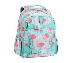 Mackenzie Aqua Flamingo Backpack ::: PBK . . . ORDERED . . . Chloe Is Going To LOVE <3